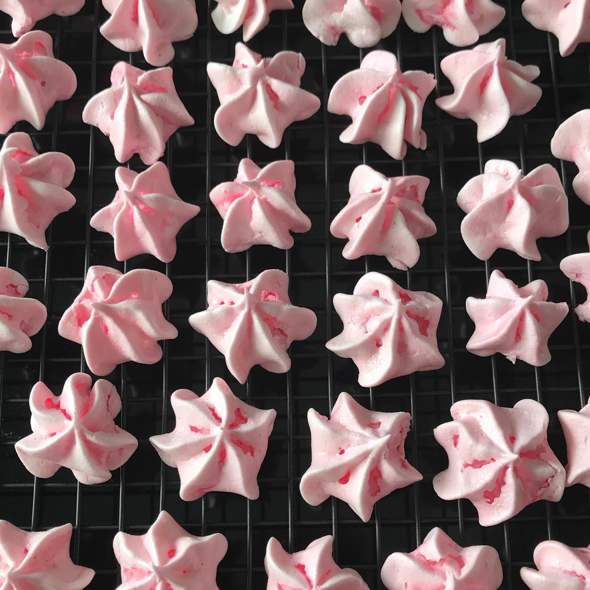 Peppermint Meringue Cookies Em27