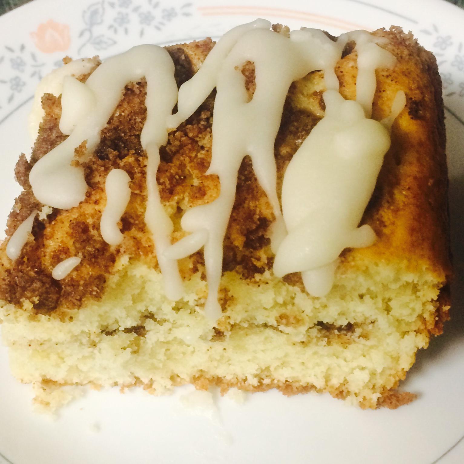 Cinnamon-Laced Coffee Cake Kathy Baldi
