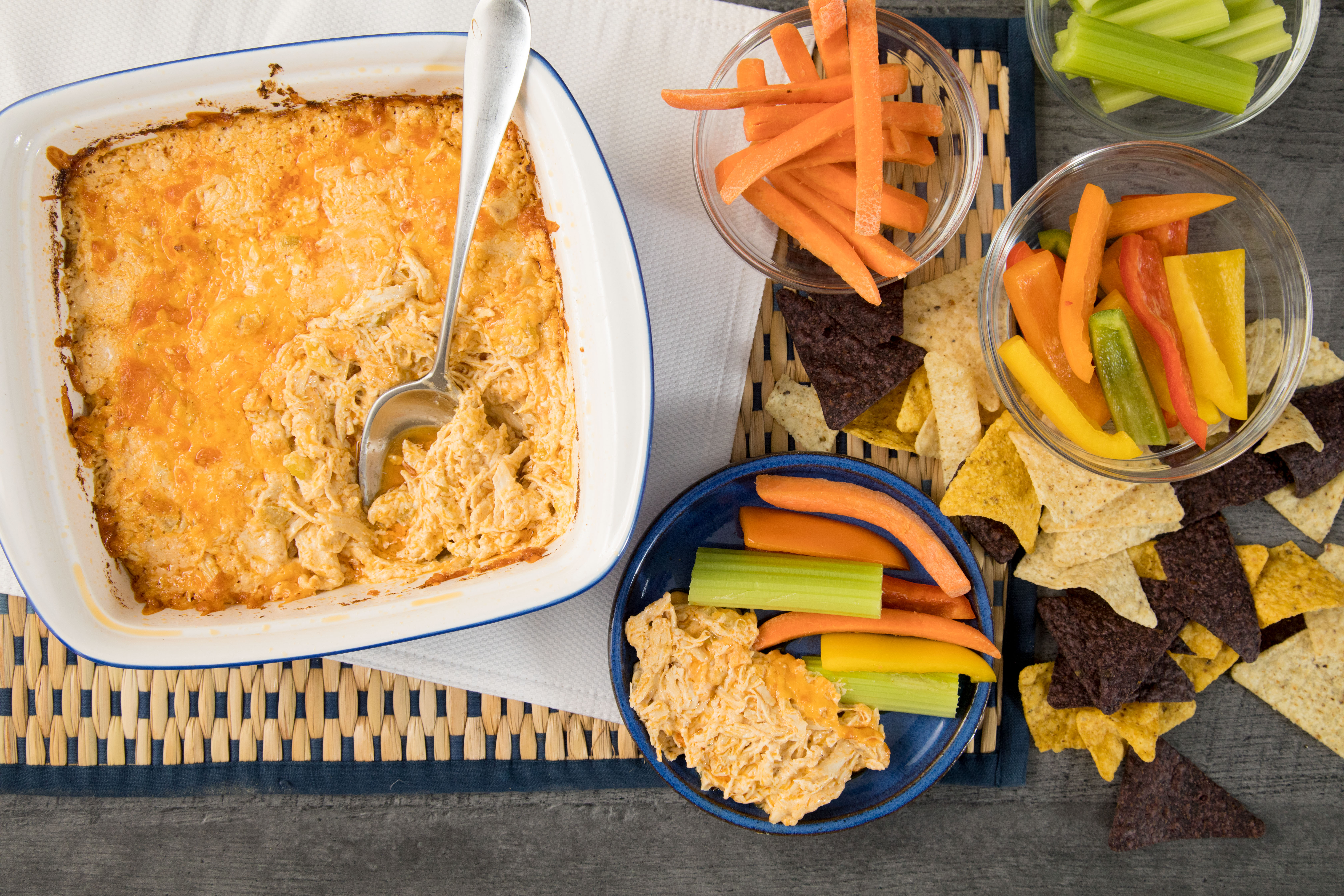 Cheesy Buffalo Chicken Dip Recipe Allrecipes