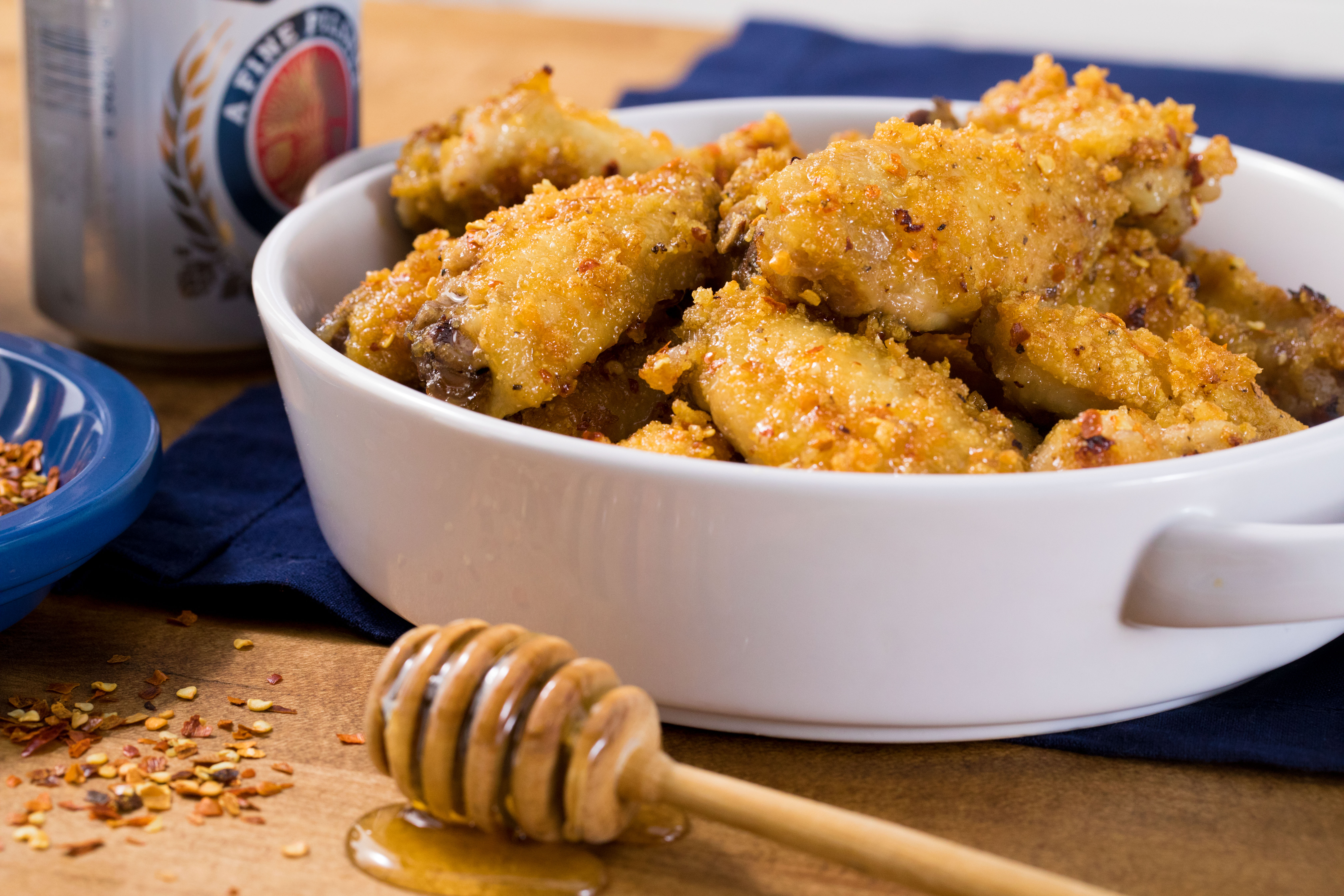 Super Crunch Oven Cooked Honey Dipped Wings