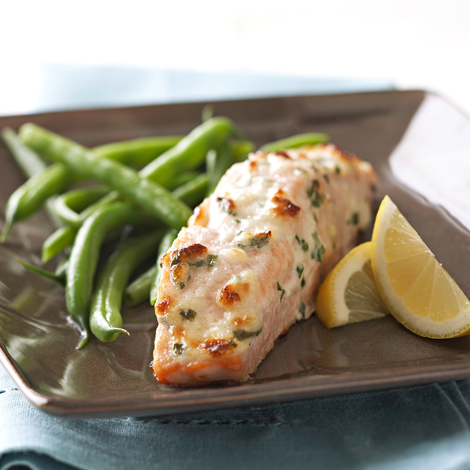 Parmesan Baked Fish Diabetic Living Magazine