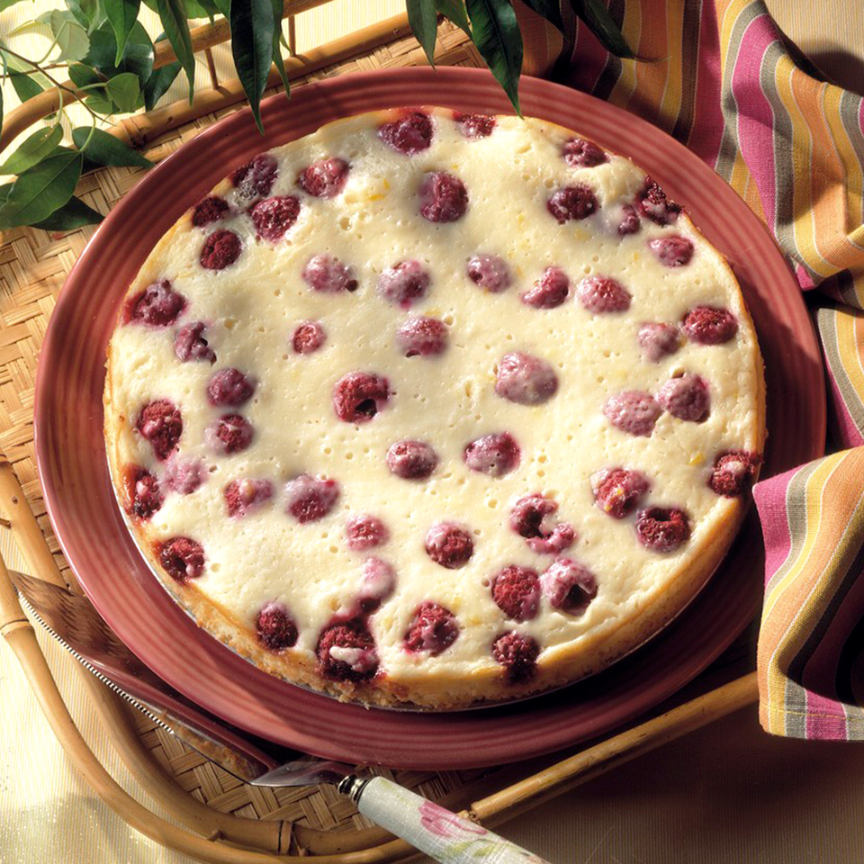 Raspberry Cake Diabetic Living Magazine