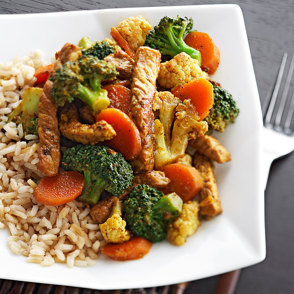 Thai Pork Stir-Fry Diabetic Living Magazine