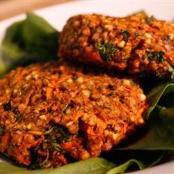 Cajun Veggie Burgers with Kasha Heather: Healthy Vegan Recipes