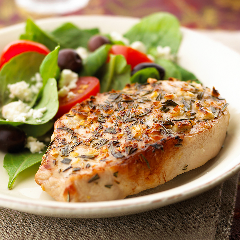 Mediterranean Pork Chops Diabetic Living Magazine