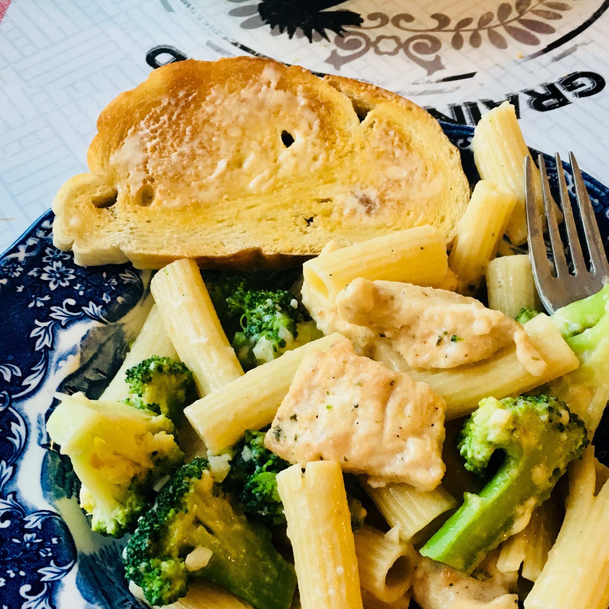 Ziti Chicken and Broccoli CCC