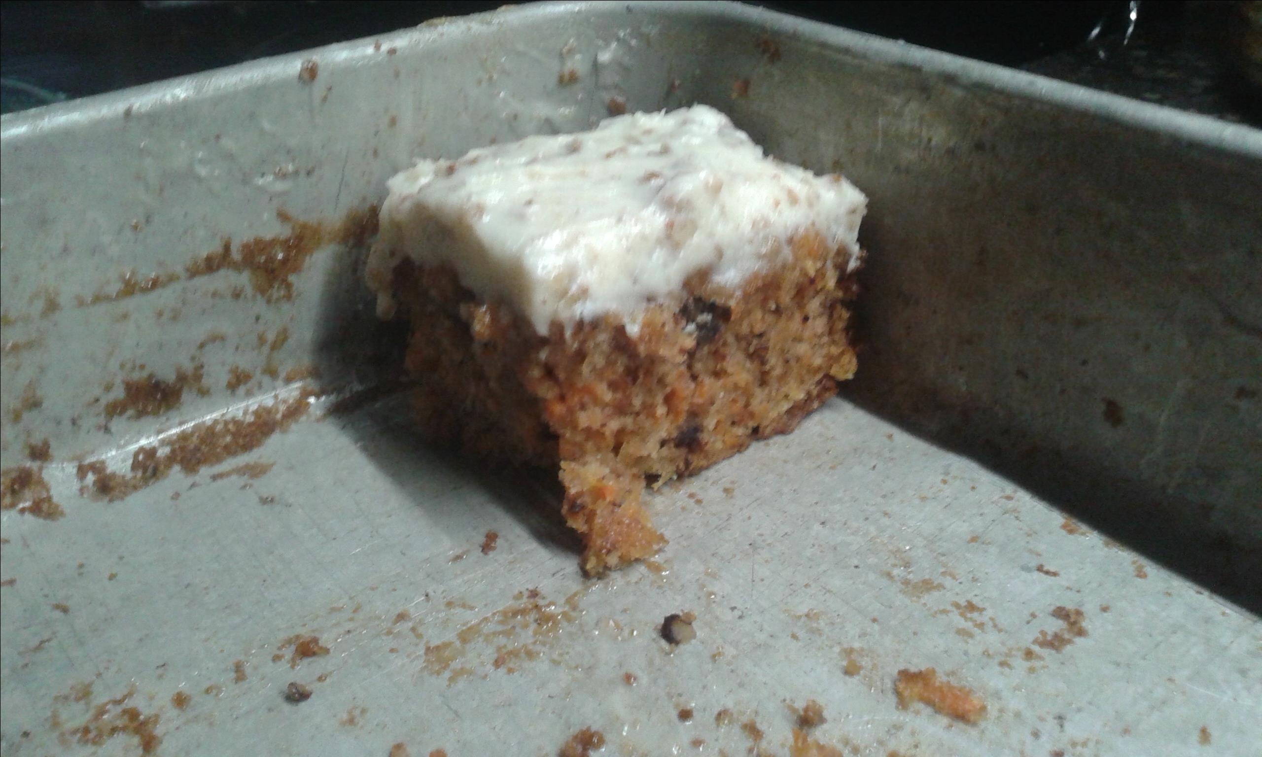 Awesome Carrot Cake with Cream Cheese Frosting Timothy
