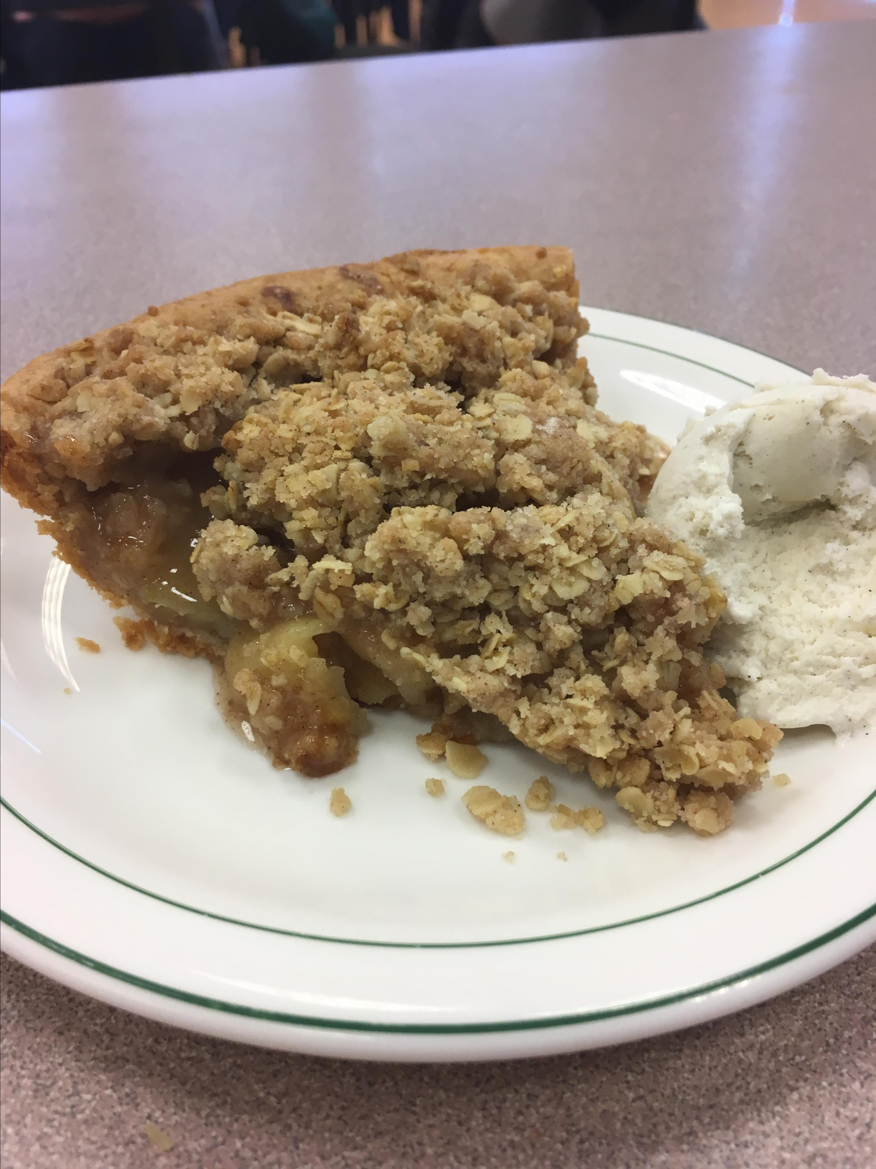 Deep-Dish Apple Pie with Crumble Topping