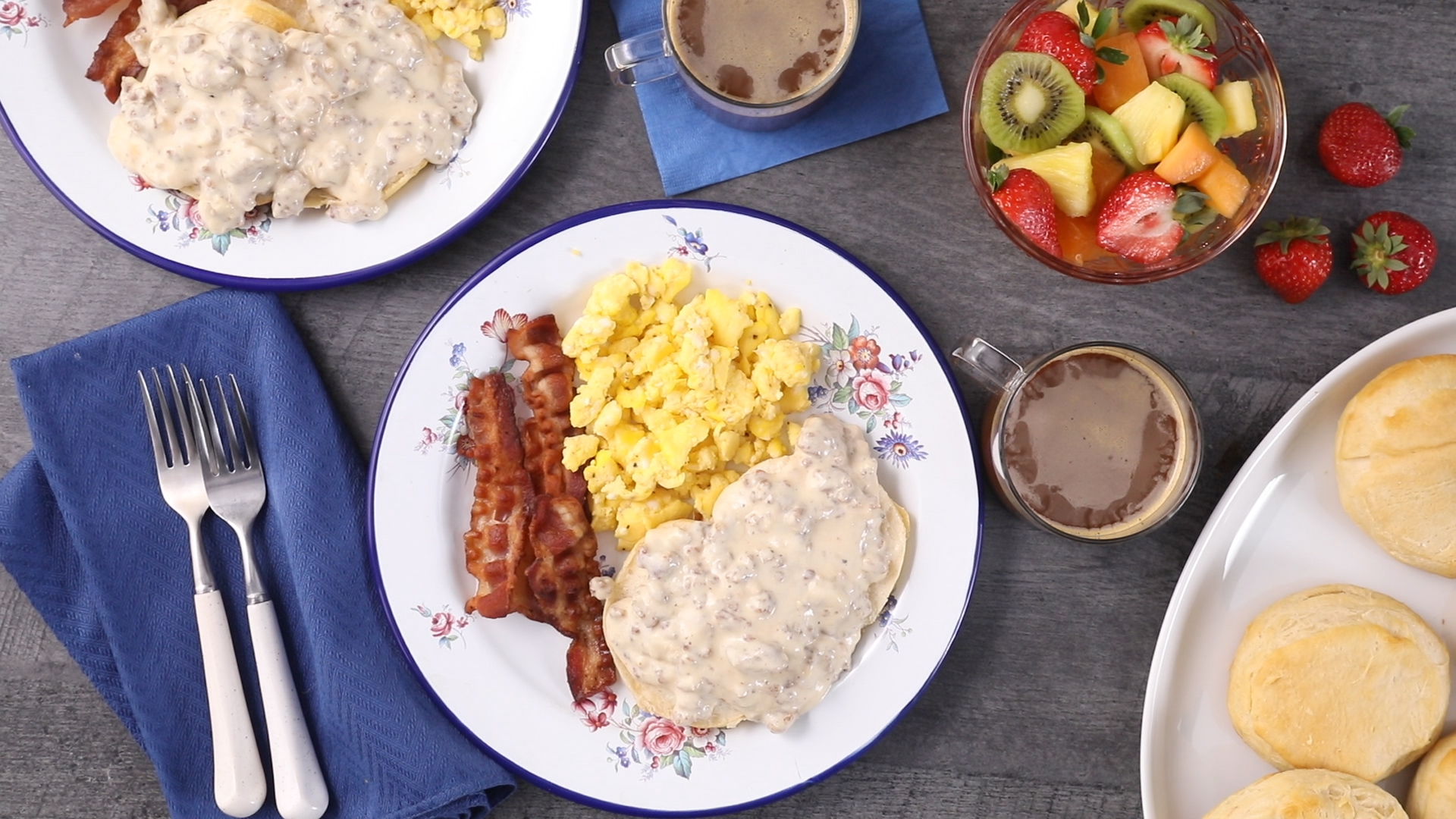 Sausage Biscuits and Gravy