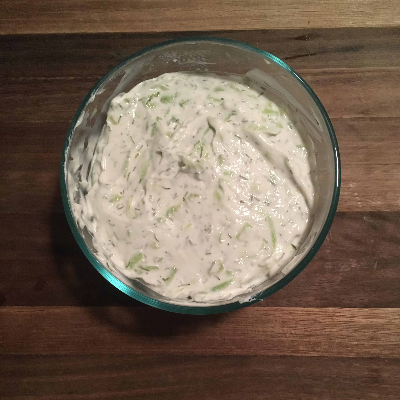 Tzatziki Sauce -Yogurt and Cucumber Dip Susan