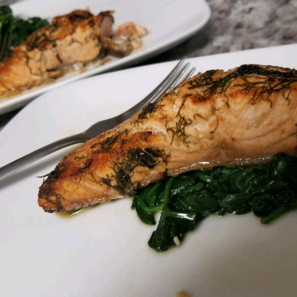 Melt-in-Your-Mouth Broiled Salmon