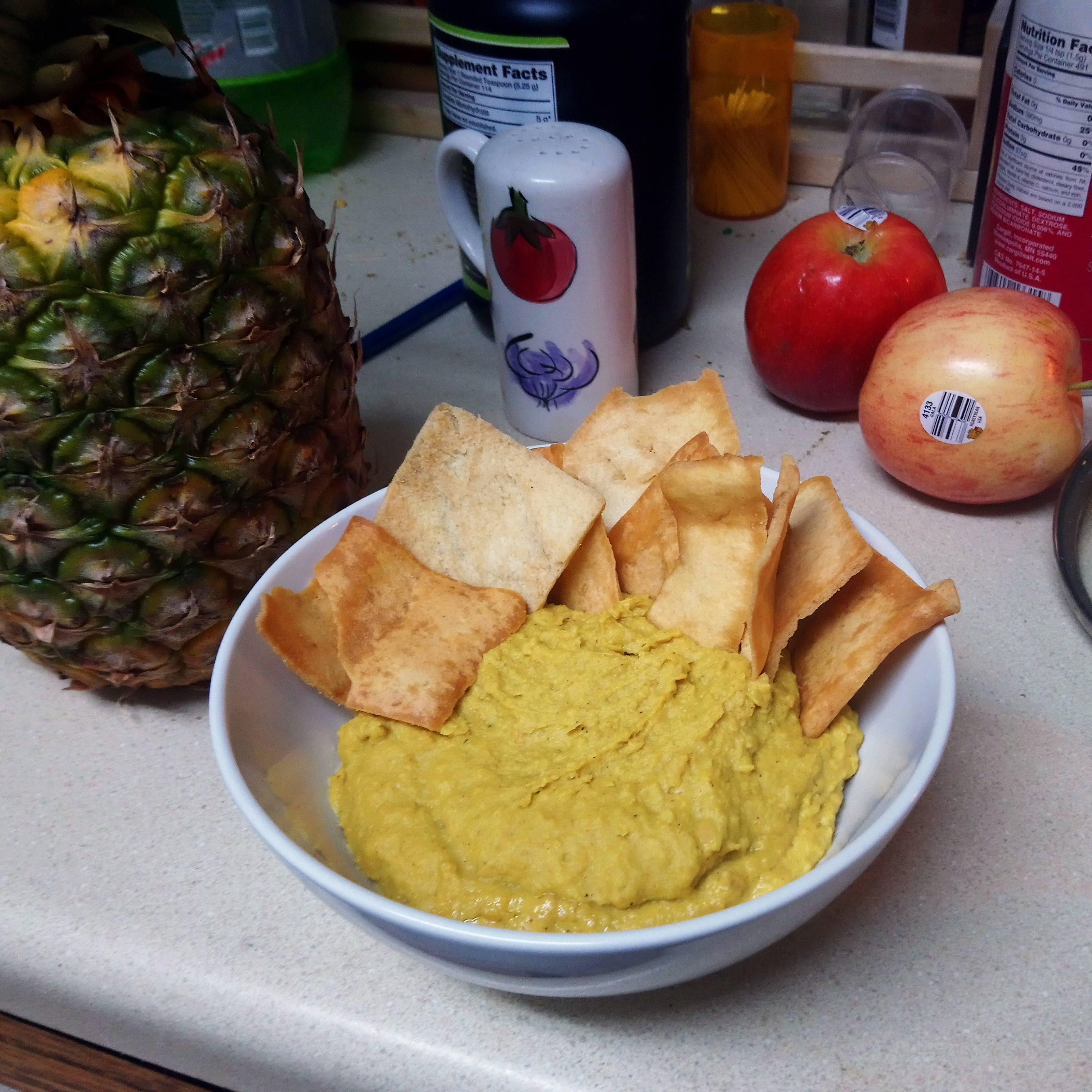 Hummus with a Kick