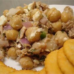 Tuna and Chickpea Salad amandak23k
