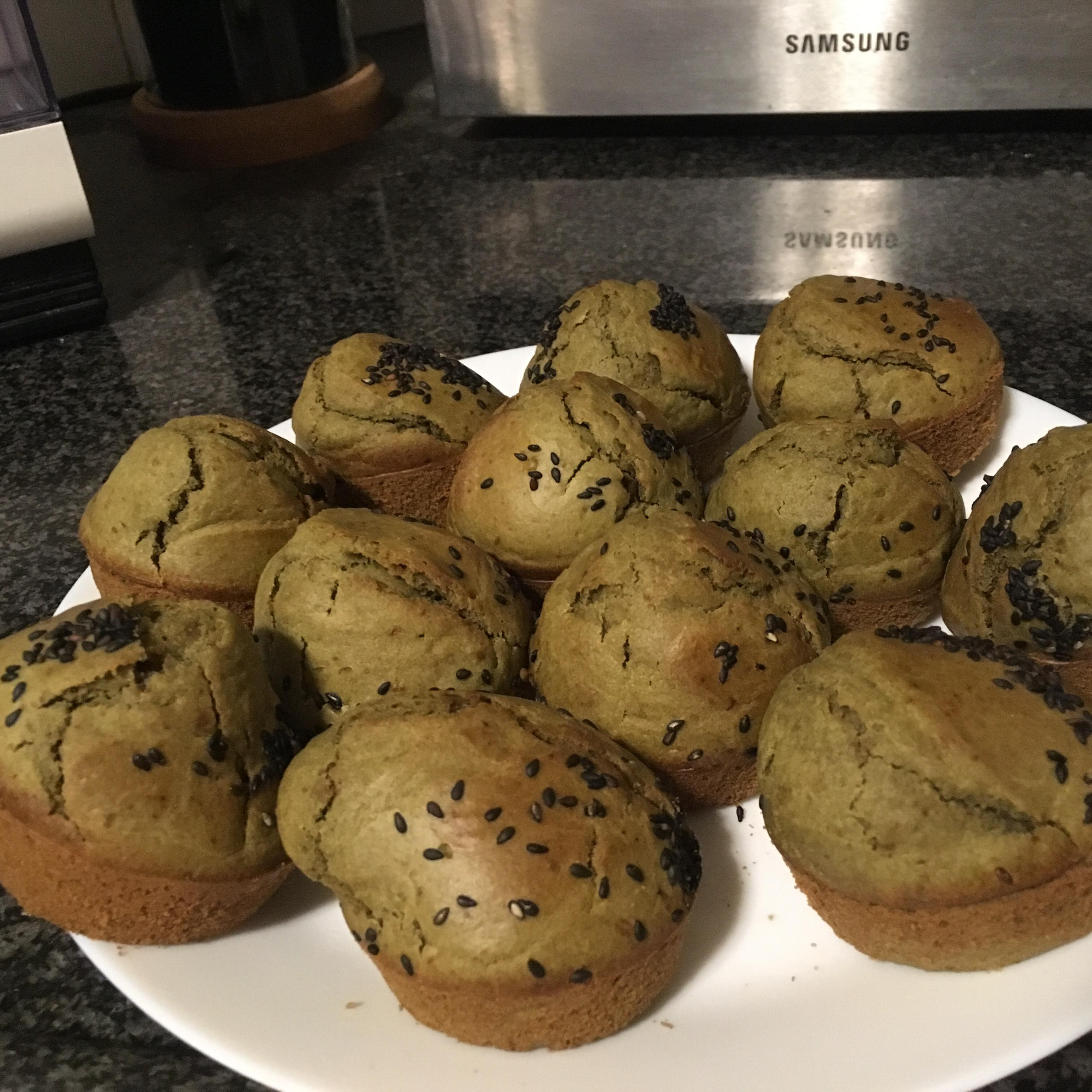 Green Tea Muffins Noa