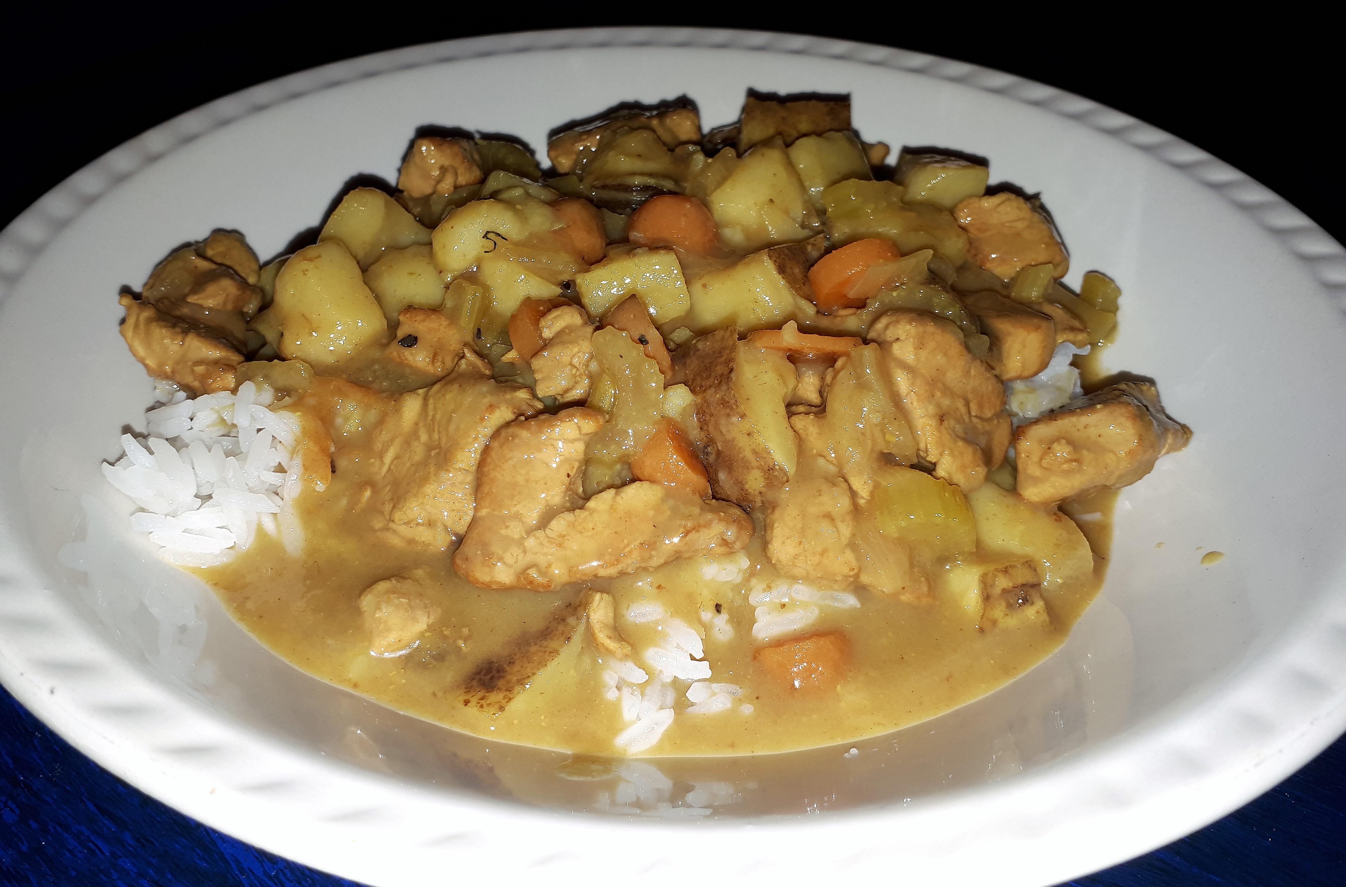 Korean Pork Curry