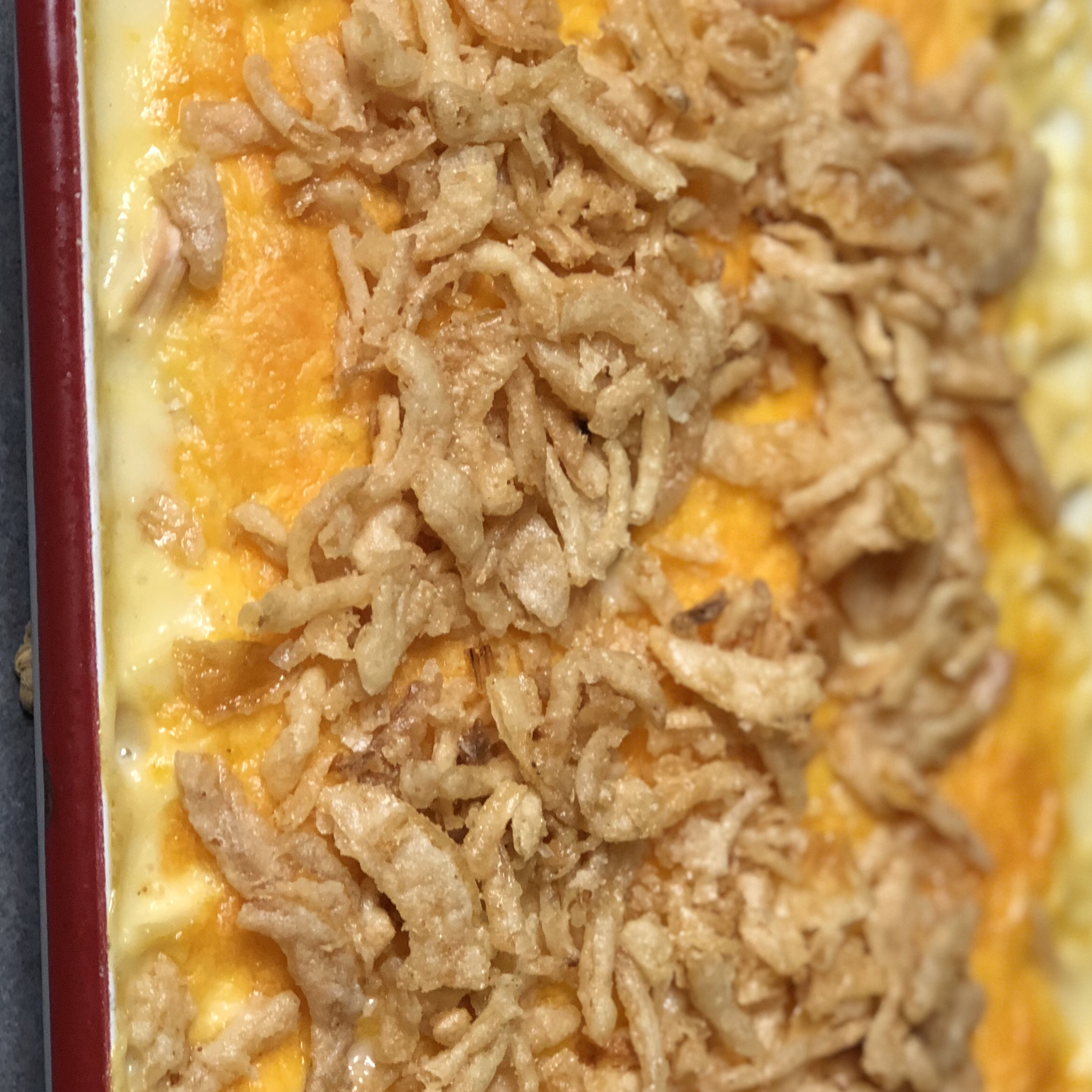 Homey Chicken and Rice Casserole
