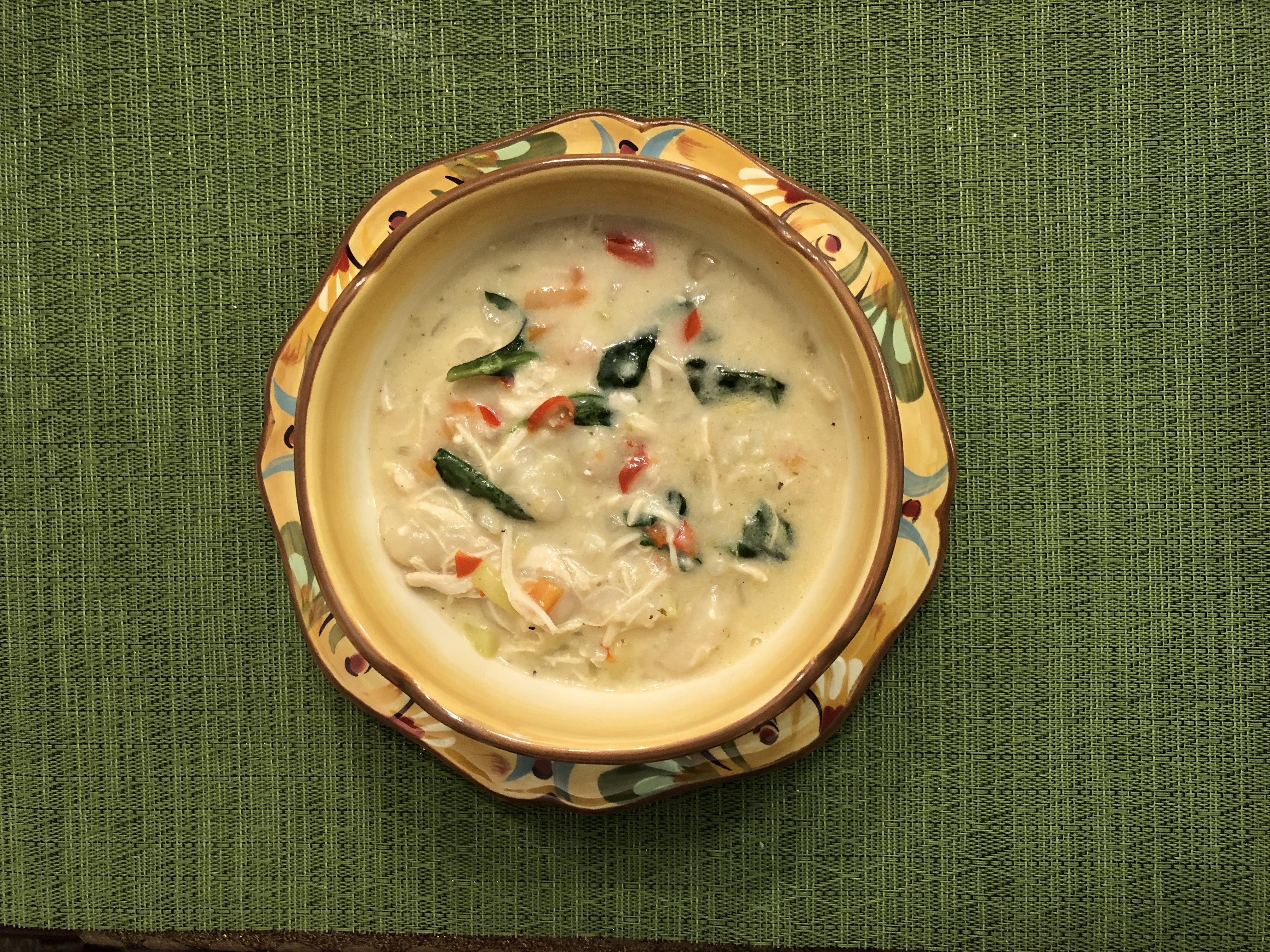 Creamy Chicken Gnocchi Soup Linny
