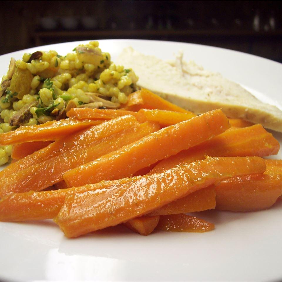 Honey Ginger Carrots Sarah-May