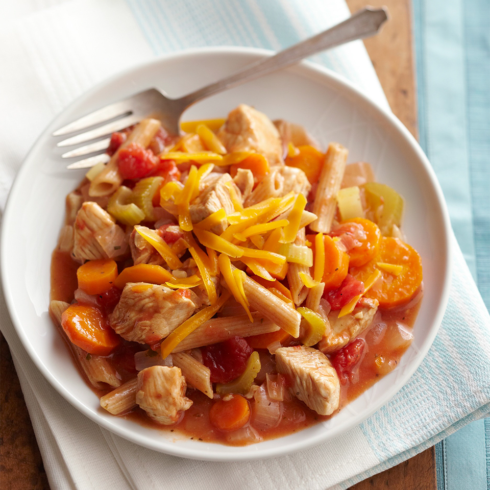 Veggies, Turkey, and Pasta Allrecipes Trusted Brands