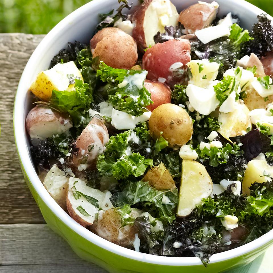 Potato-Kale Salad Trusted Brands