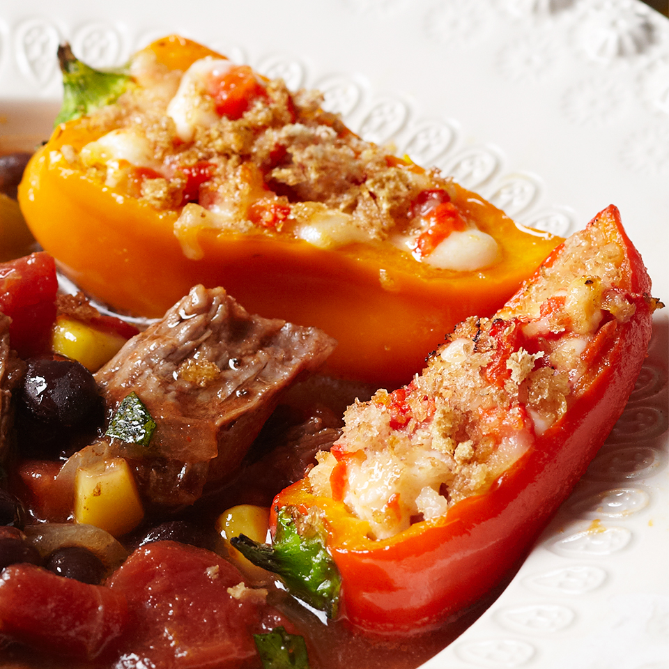 Stuffed Mini Peppers Diabetic Living Magazine
