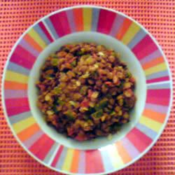 Lentils with Tomatoes