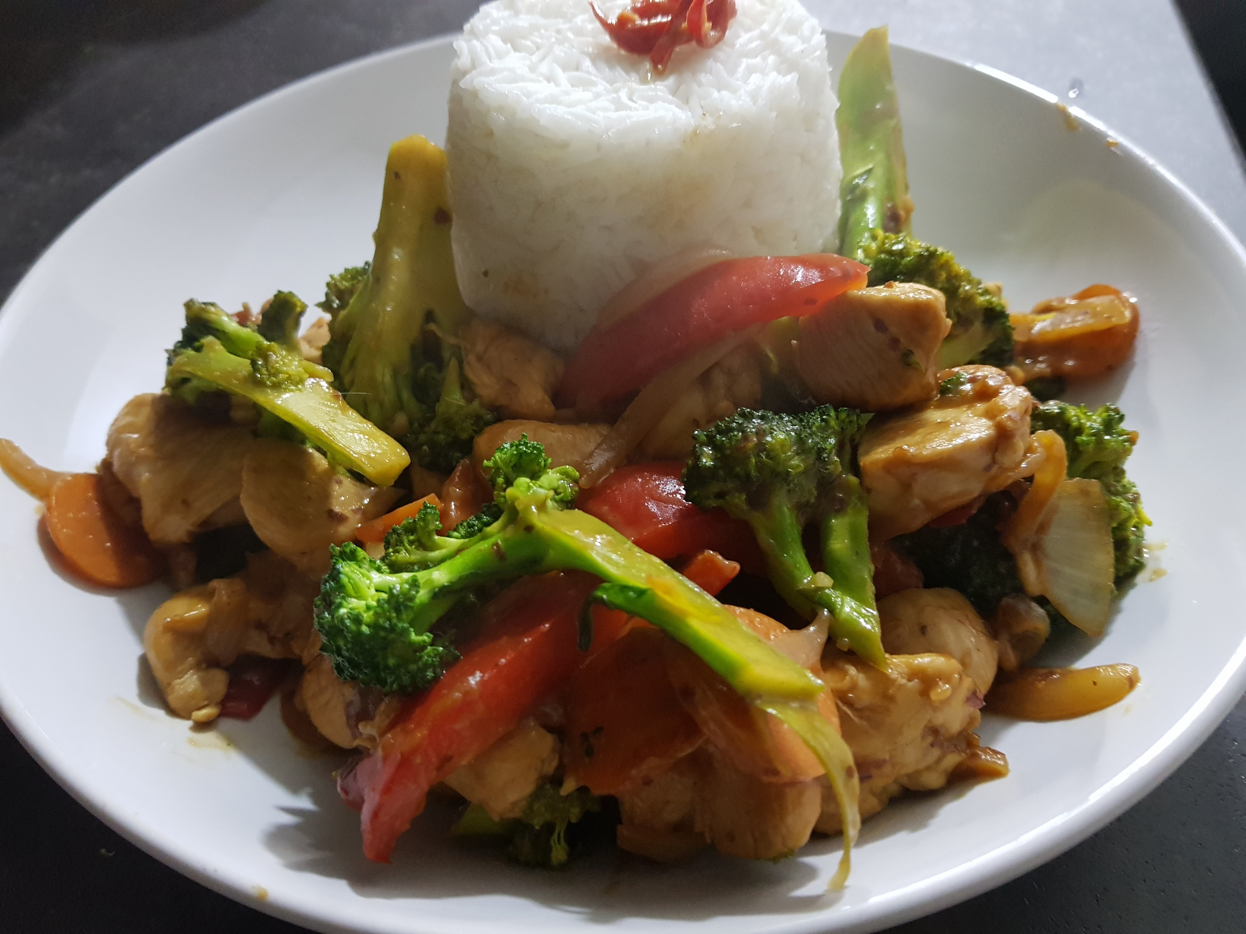 Thai Peanut Chicken