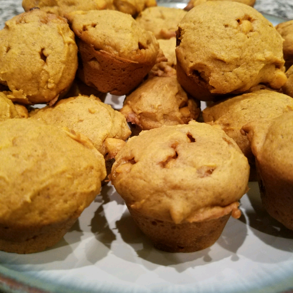 Mini Pumpkin Butterscotch Muffins James Knight