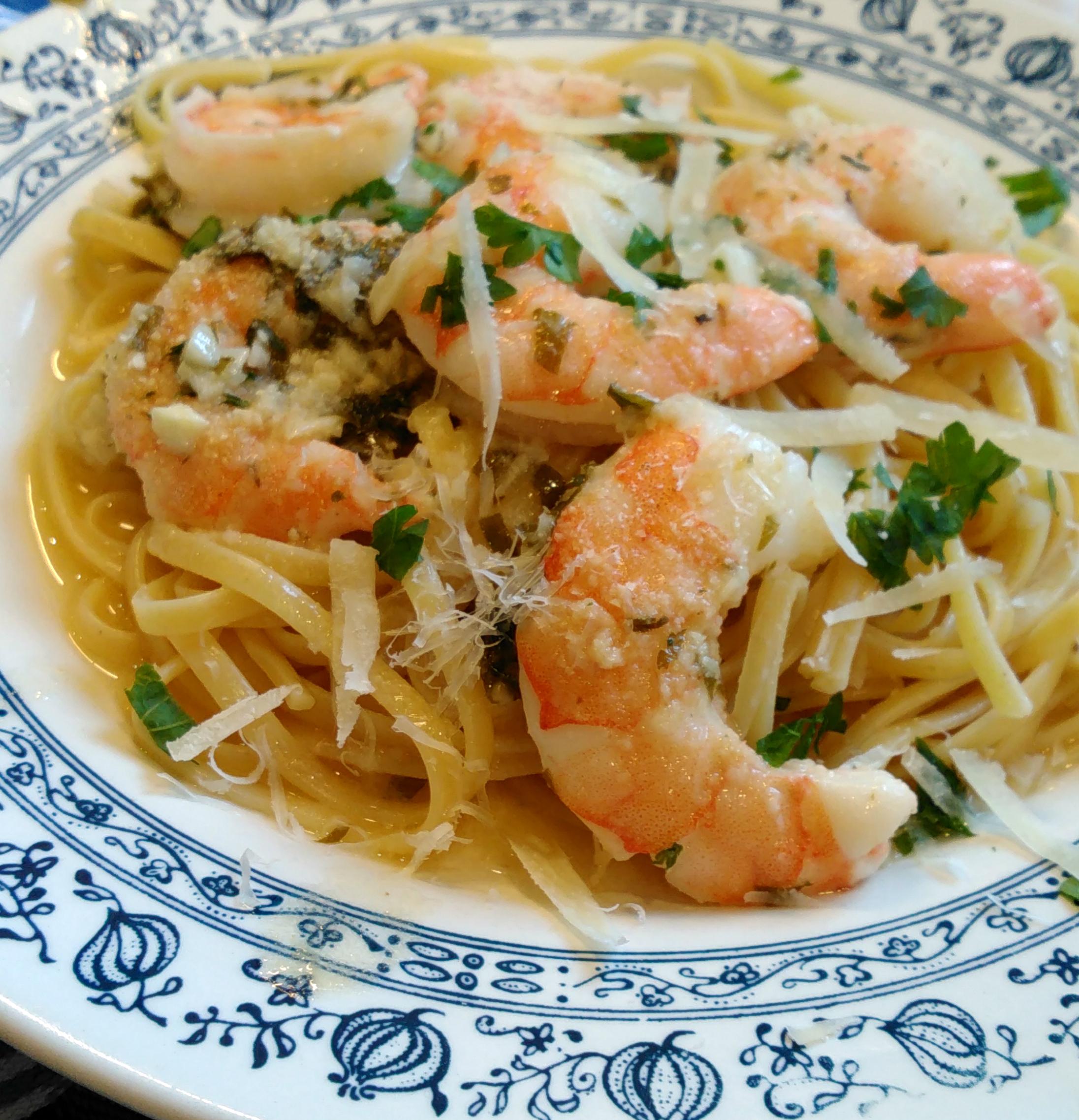 Garlic Shrimp Scampi Bake harleygirl58