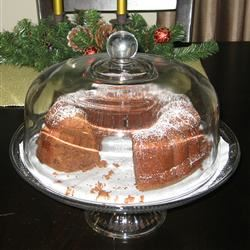 Chocolate Pound Cake III