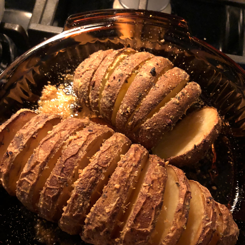 Fabienne's Hasselback Potatoes Chris Braden