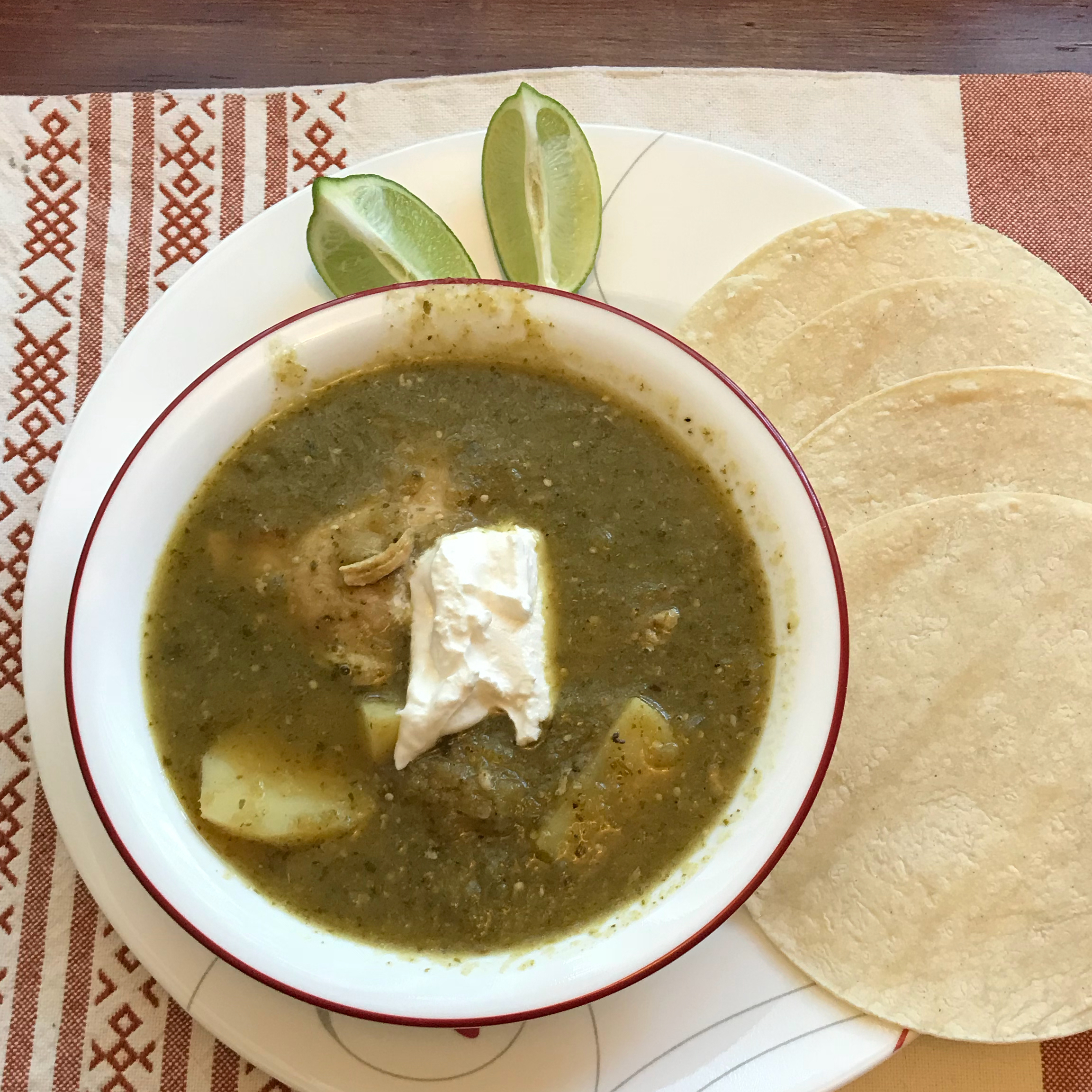 Chicken Chile Verde Rod Russell