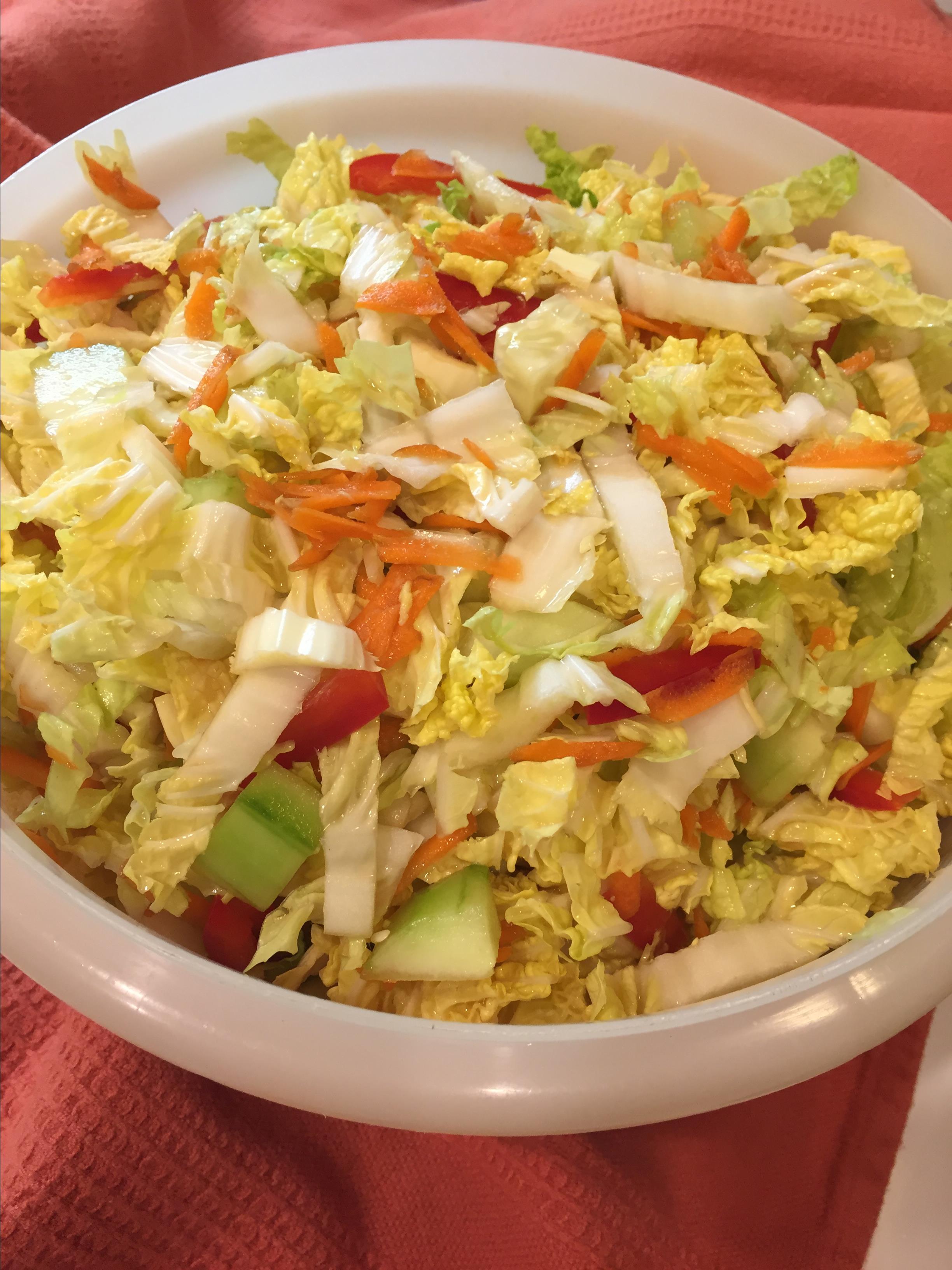 Refreshing Napa Cabbage Salad