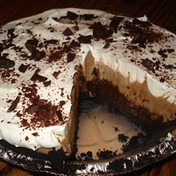Krissy's Easy Chocolate Triple Layer Pie TheMegster