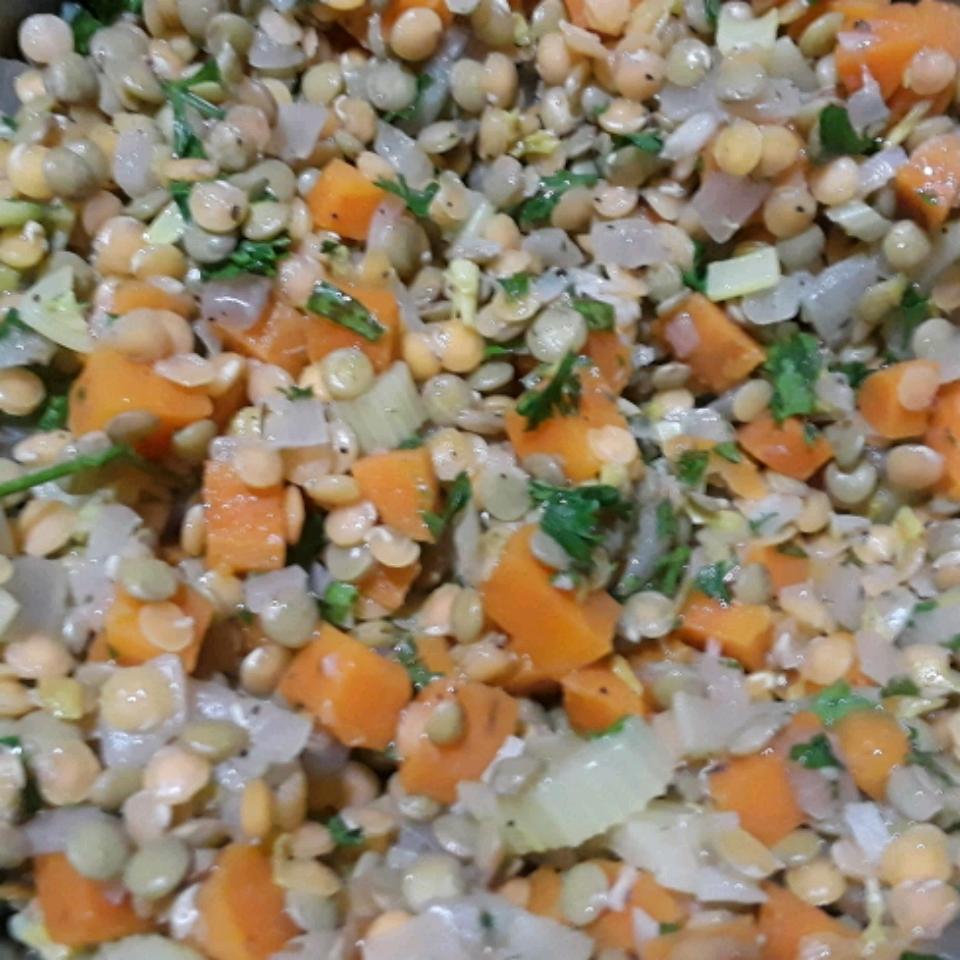 Mediterranean Lentil Salad Alice Martin