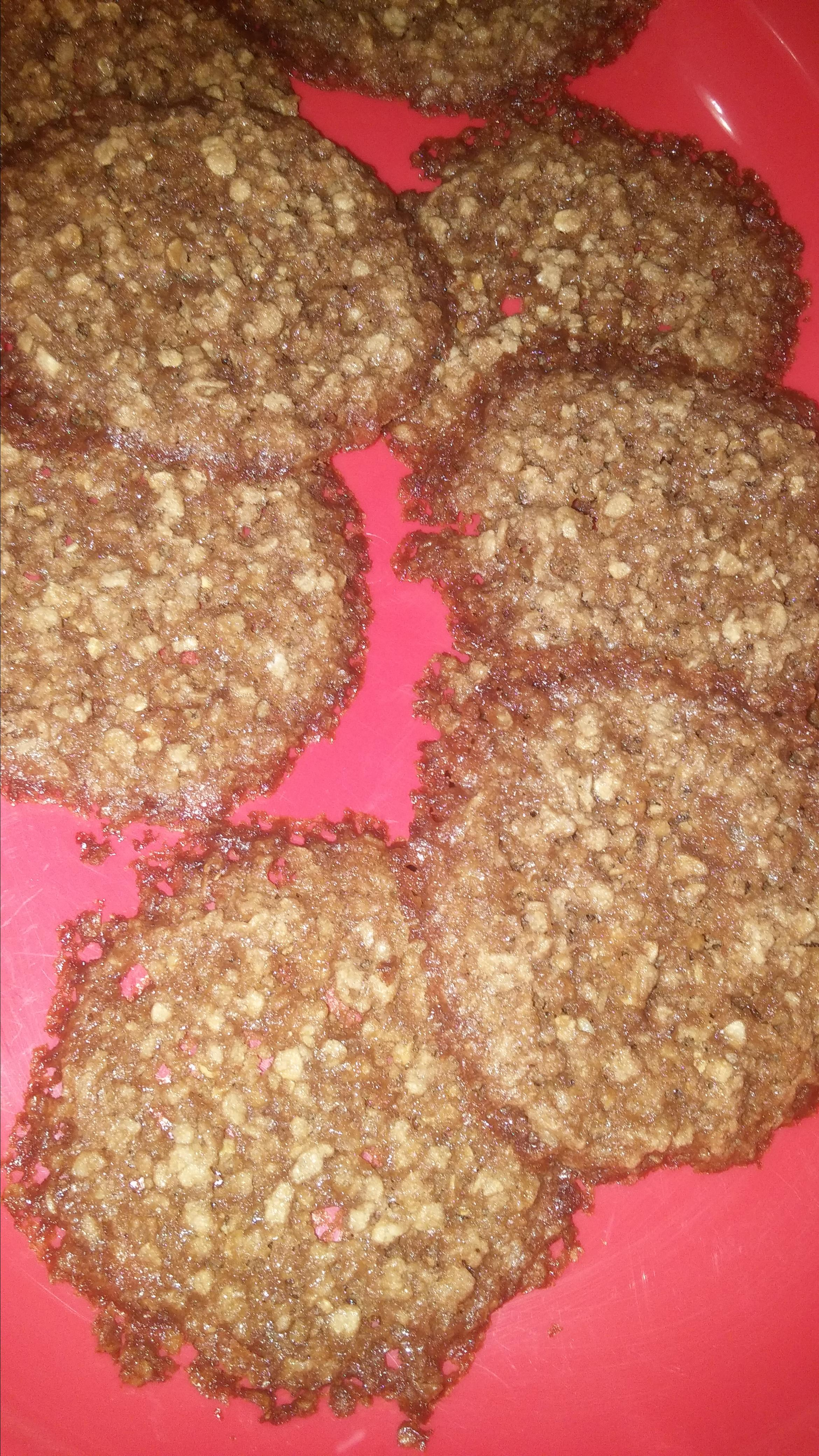 Lacy Oatmeal Cookies Stacy Secoy