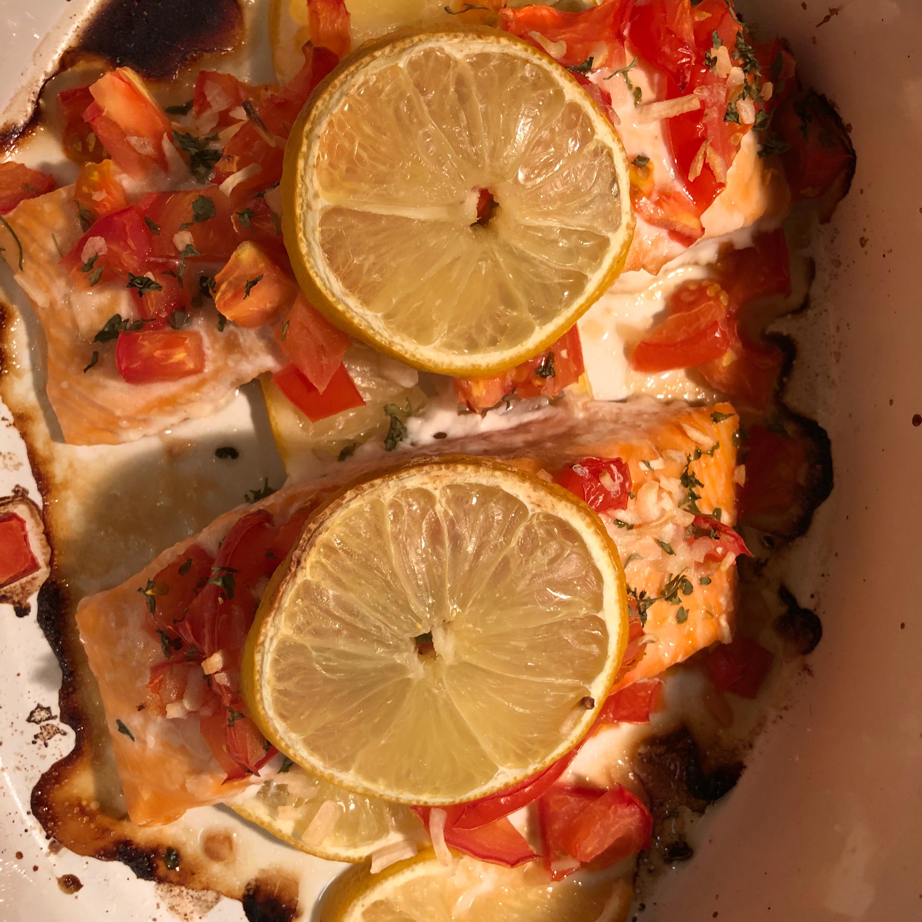 Baked Salmon nandav