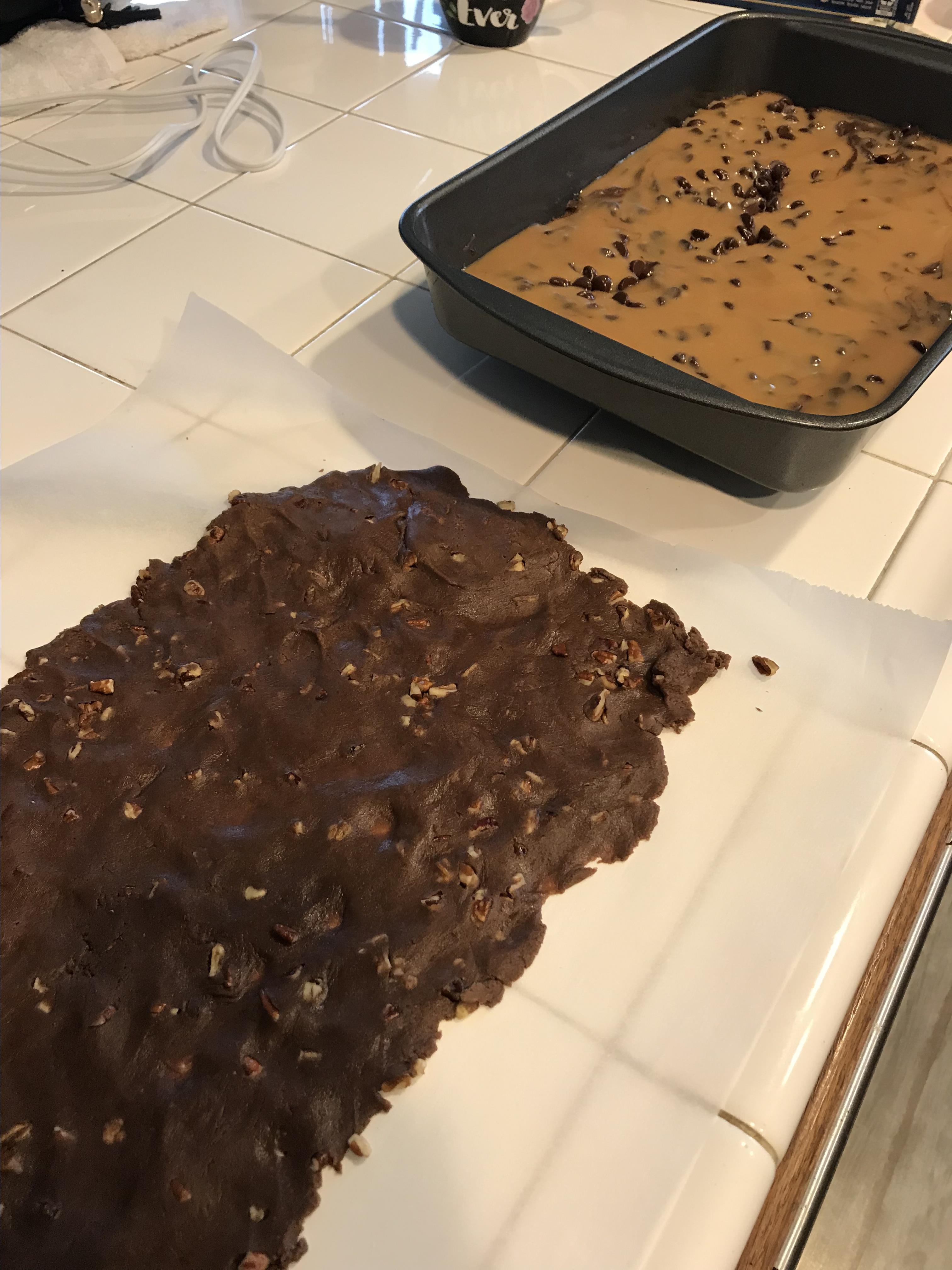 Chocolate Caramel Brownies tjharada
