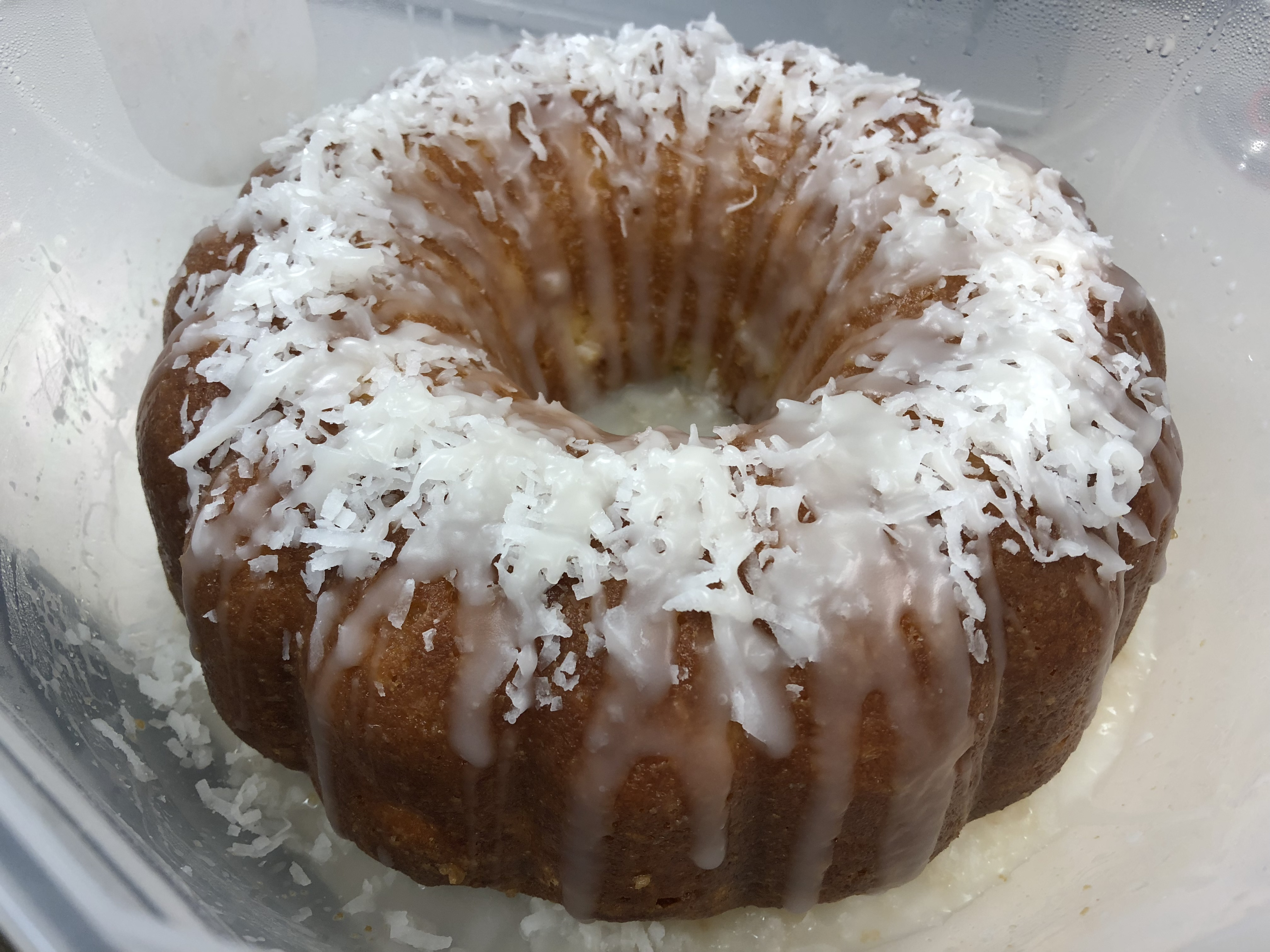 Pina Colada Cake III Kenneth Winnings
