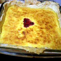 Lemon Chess Pie I