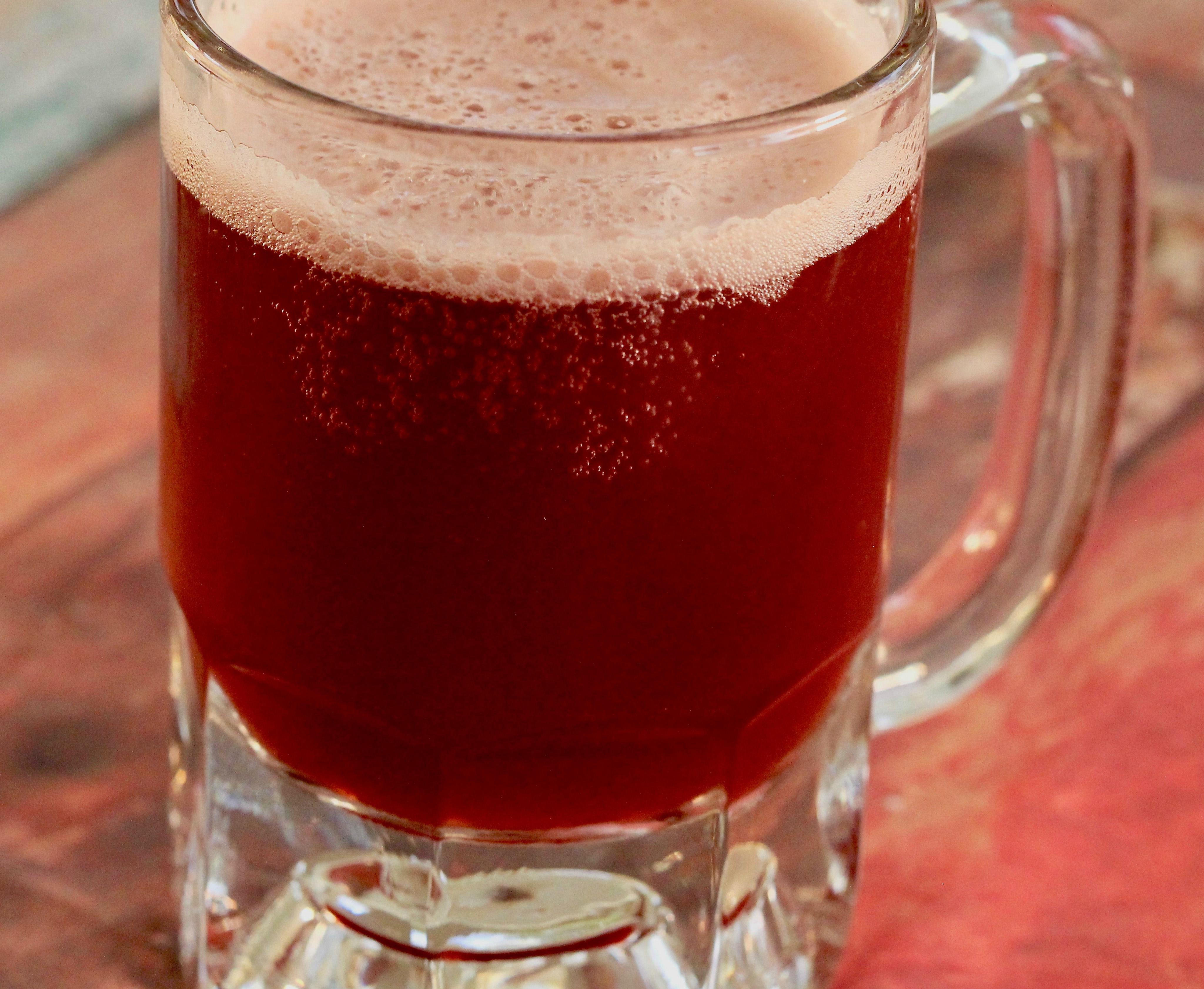 John's Tasty German Cherry Beer ERLENSEE_GERMANY