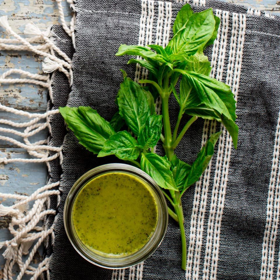 Basil Vinaigrette Trusted Brands