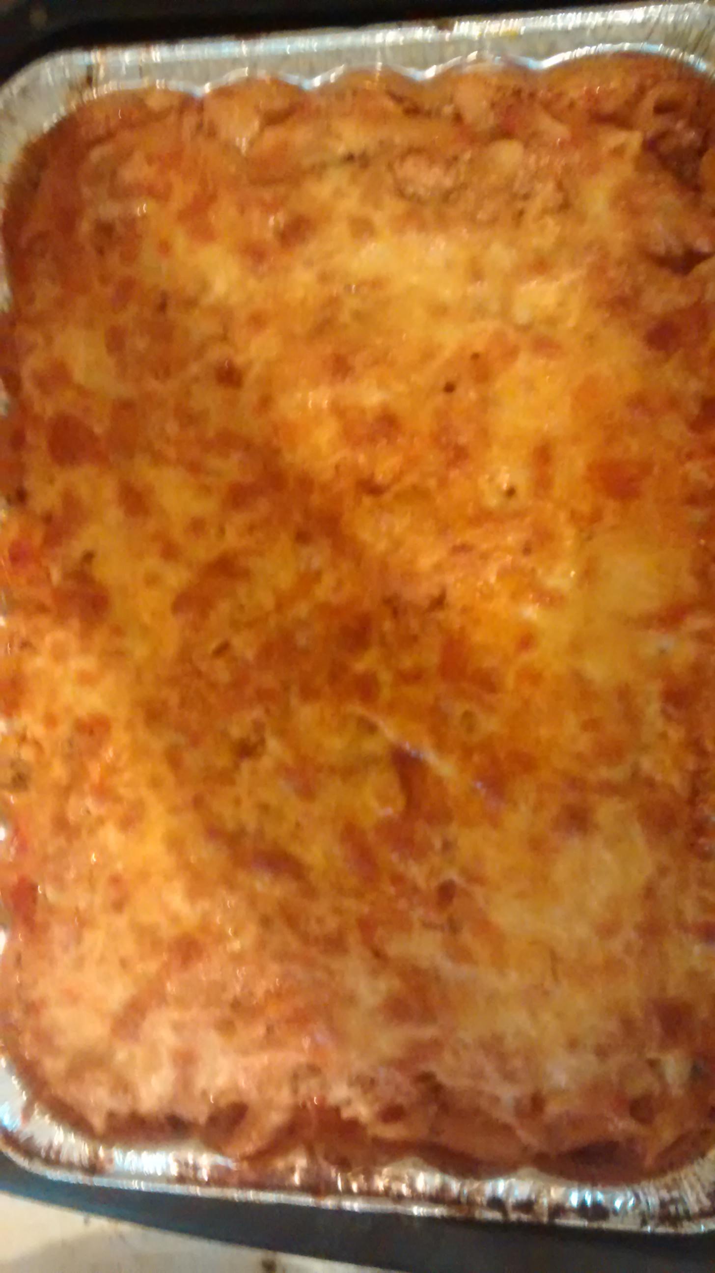 RAGÚ® No Boiling Beefy Baked Ziti Trish Godwin