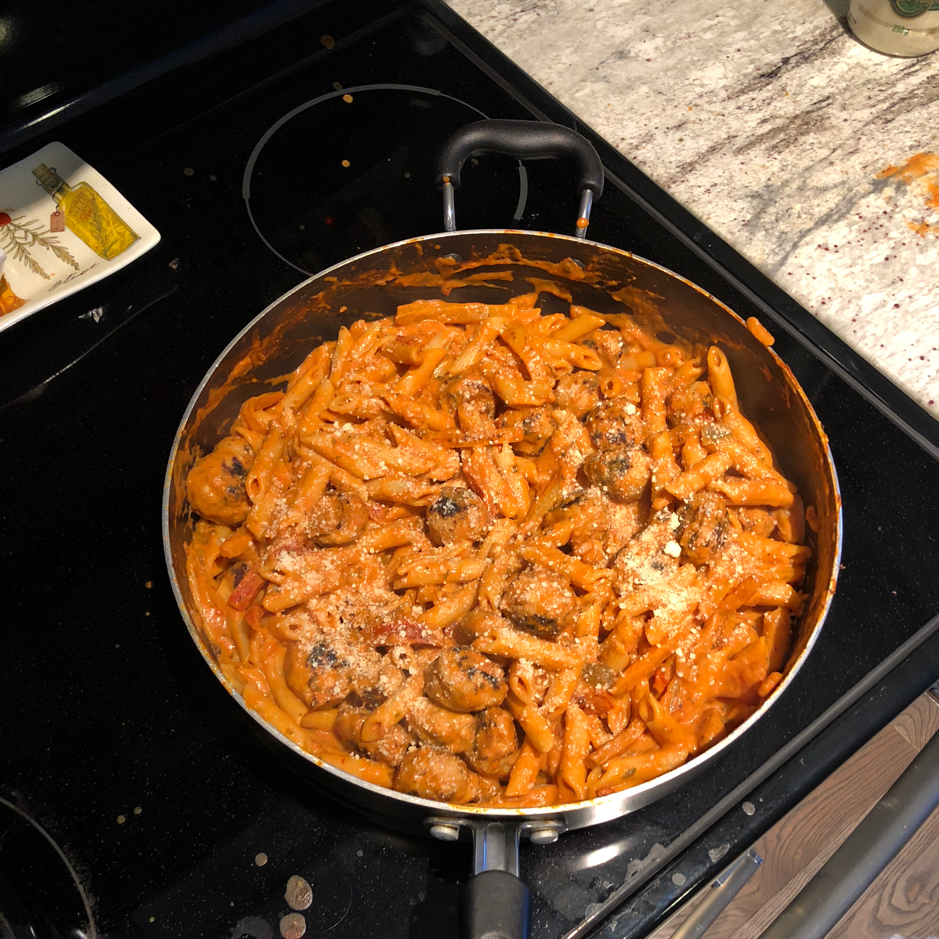 Zesty Penne, Sausage and Peppers Blaine Gibson