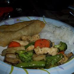 Moo Goo Gai Pan II B Red