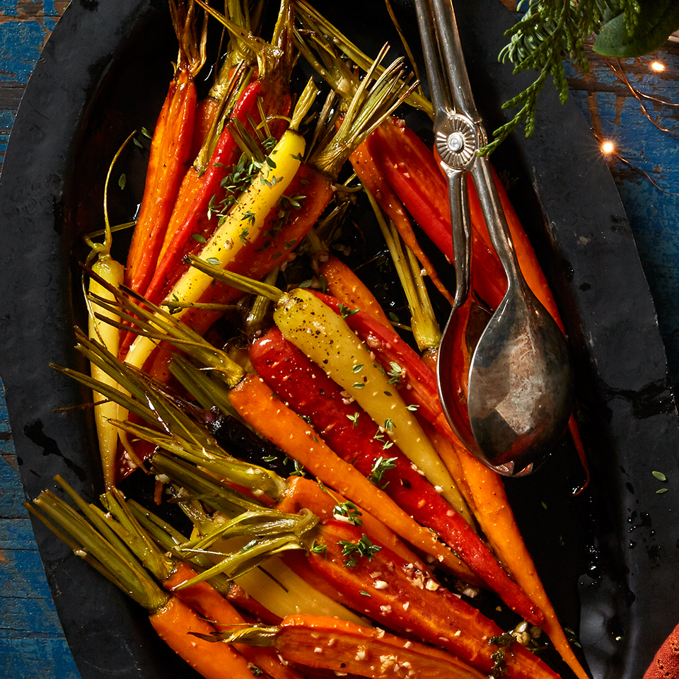 Maple-Thyme Roasted Baby Carrots Allrecipes Trusted Brands