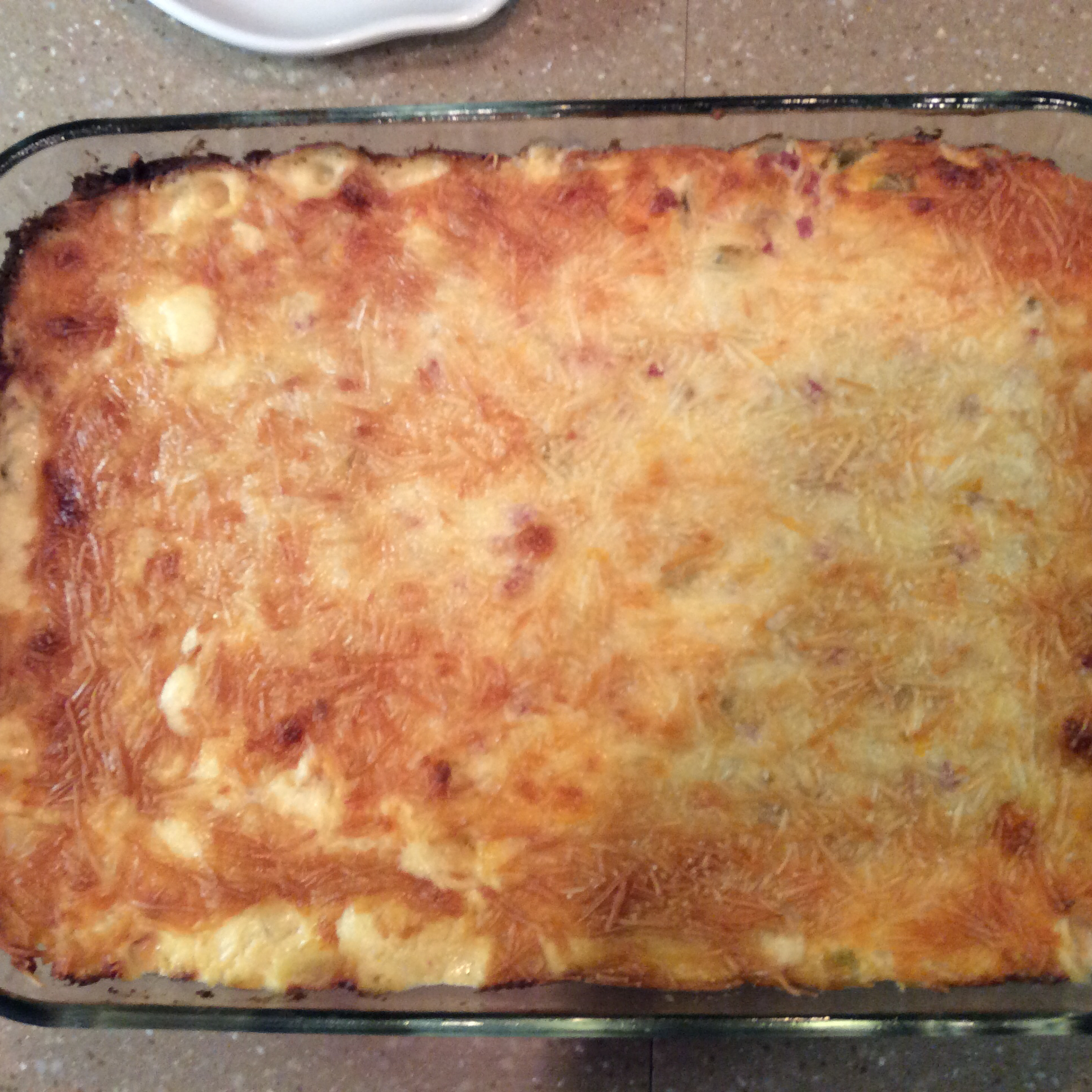 Cheesy Ham and Hash Brown Casserole