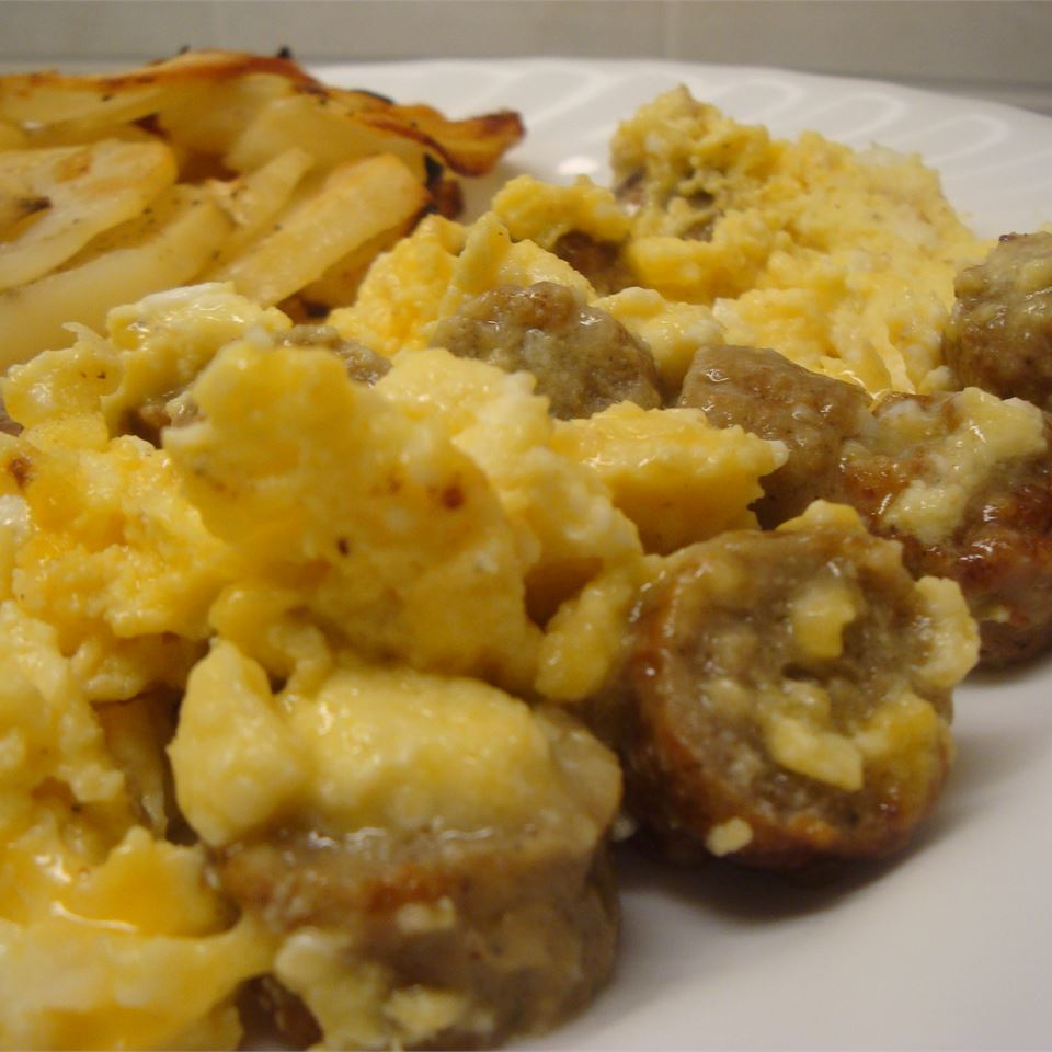 Sausage, Egg, and Cheese Scramble
