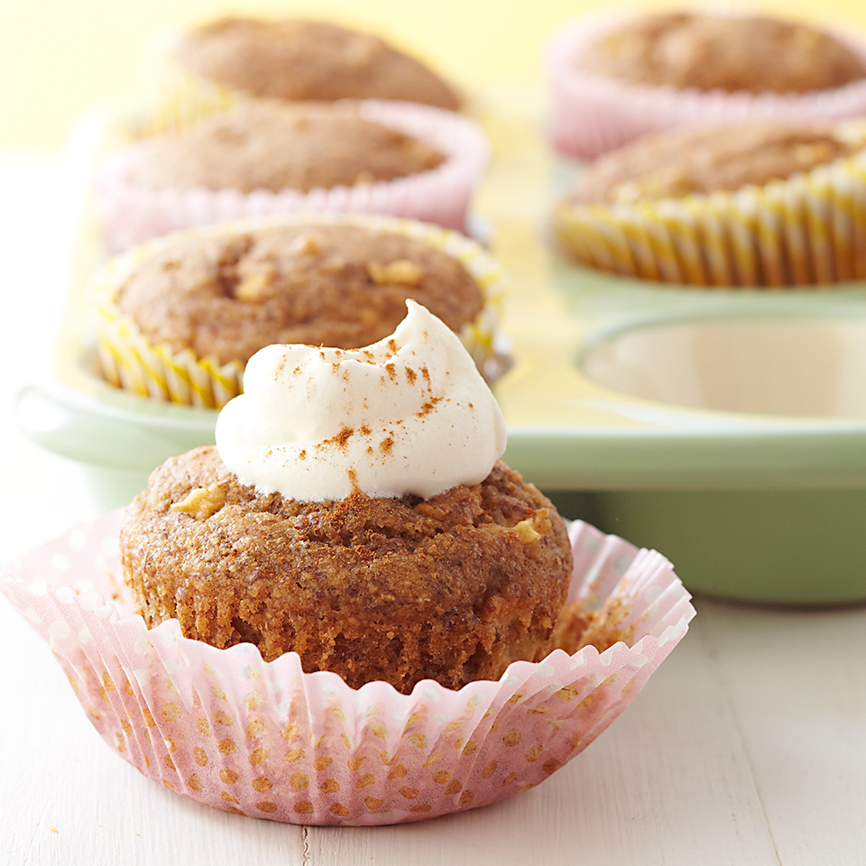 Apple-Spice Cupcakes Diabetic Living Magazine