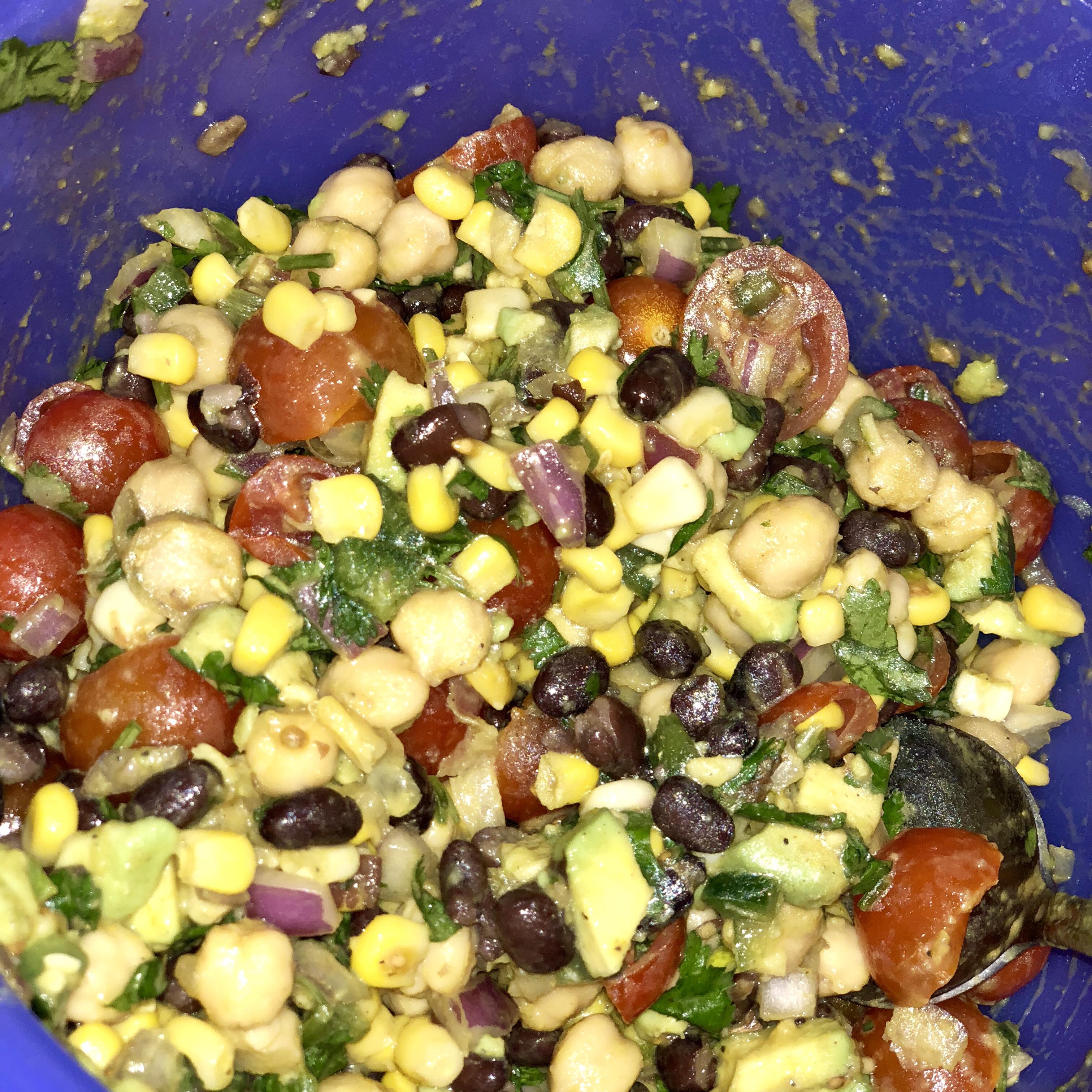 Summer Veggie Salad Shawna D